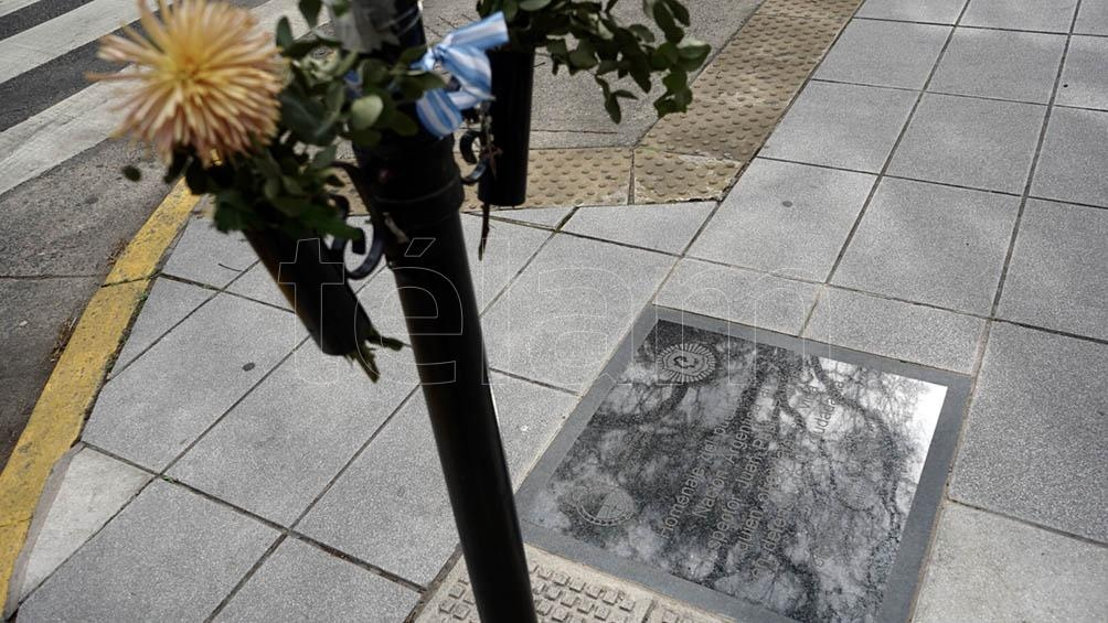 Pablo Roldán fue apuñalado por un hombre bajo tratamiento psiquiátrico frente al museo Malba. Foto: Mateos Pepe