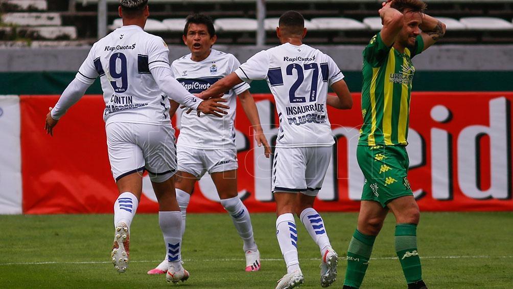 Gimnasia mostró su contundencia ante Aldosivi. Foto: Diego Izquierdo