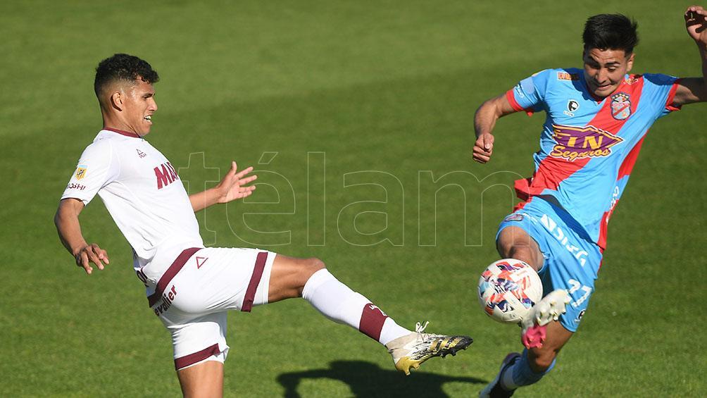 Arsenal se impuso a Lanús y obtuvo la primera victoria con Israel Damonte como DT