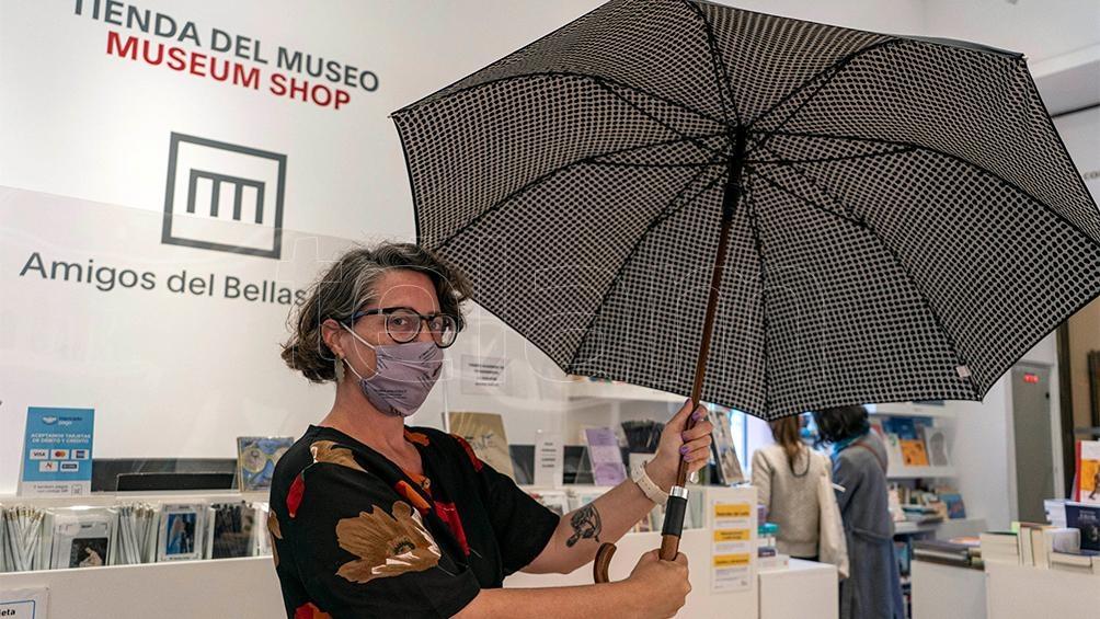 Paraguas Julio Le Parc. Tienda MNBA.