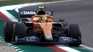 """Norris, con McLaren, largó desde la """"pole"""" en el Gran Premio de Rusia"""