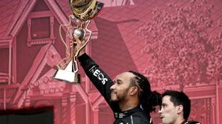Hamilton ganó el GP de Rusia y alcanzó las 100 de victorias