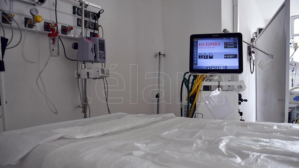 """""""Gracias a la vacuna en las últimas 36 horas no registraron pacientes con coronavirus en las camas UTI"""", Daniel Vidotto. Foto: Eliana Obregon"""