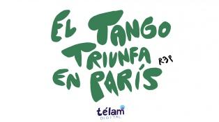 El tango triunfa en París