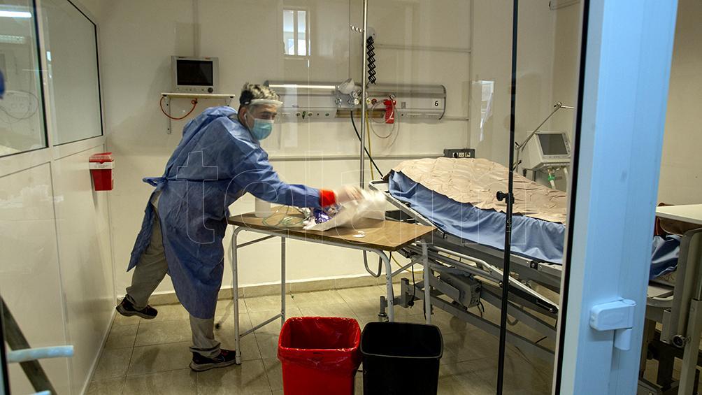 Las autoridades hospitalarias, aliviadas por la caída de casos Covid-19 en las UTI