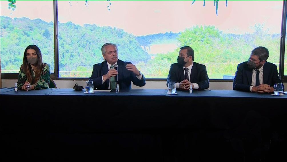 Unas 600.000 personas ya participan de la segunda etapa del  programa, presentado en Puerto Iguazú por el presidente Alberto Fernández.