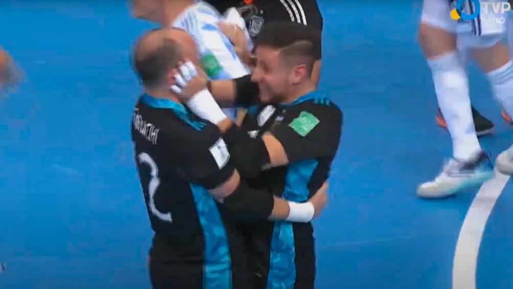 Futsal: Argentina superó a Rusia y pasó a la semifinal