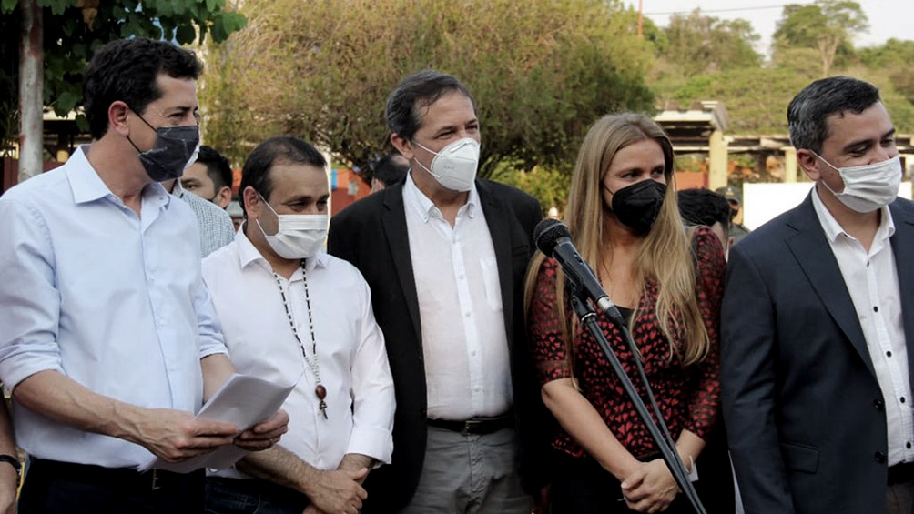 """La directora explicó que el paso de Iguazú se habilitó """"como prueba piloto y para ajustar procedimientos""""."""