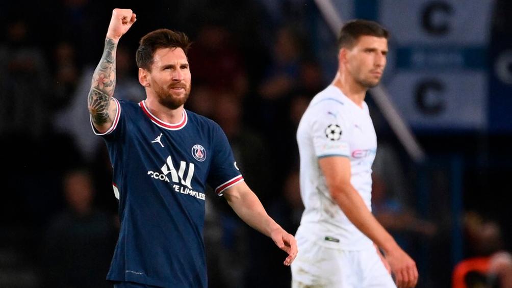 PSG, con el primer gol de Messi, fue efectivo y ganó ante el dominio del City