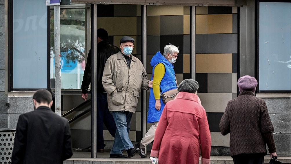 El Kremlin manifestó que la situación suscita preocupación, pero aún no considera un confinamiento en todo el país ni ninguna otra medida a nivel nacional. Foto: AFP