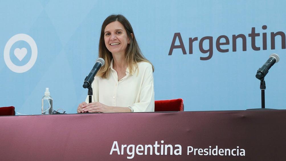 """""""Estamos construyendo una política que da respuesta a un problema que tenemos las argentinas y argentinos"""", dijo Fernanda Raverta."""