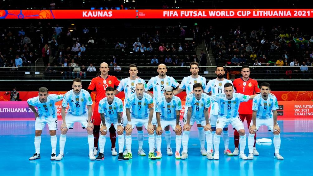 Argentina es finalista de la Copa del Mundo de Lituania 2021. Foto: @Argentina