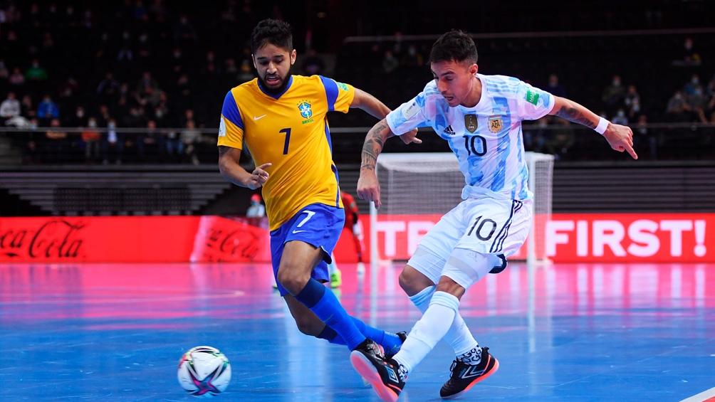 Argentina llega a la final luego de eliminar a Brasiel en semis.