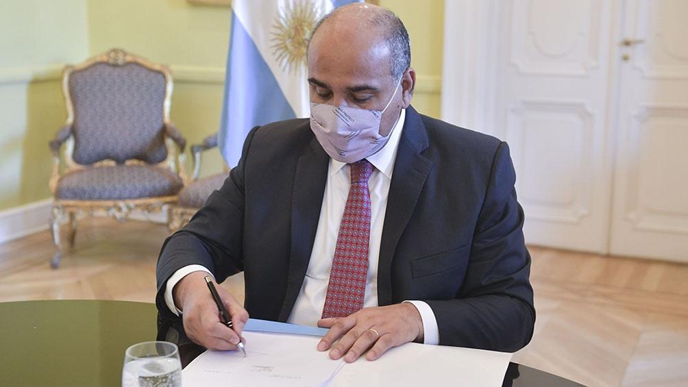 El jefe de Gabinete, Juan Manzur, recibirá este jueves al gobernador de Chubut, Mariano Arcioni.