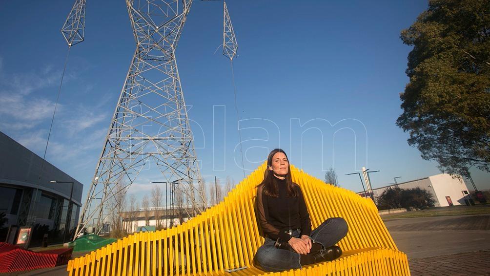 María Rosenfeldt, directora de Tecnópolis. Foto: Florencia Downes