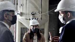 Filmus inauguró obras del Conicet en Rosario por 647 millones de pesos