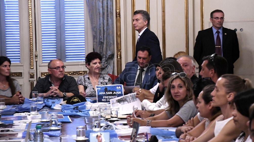 La justicia investiga presunto espionaje ilegal a familiares de víctimas del hundimiento del submarino ARA San Juan.
