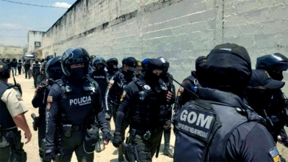 La policía retomó el control del penal.