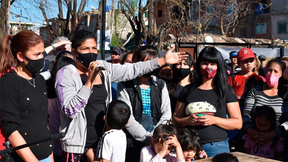 Las mujeres desalojadas en el Barrio 31 de Retiro denuncian amenazas del gobierno porteño