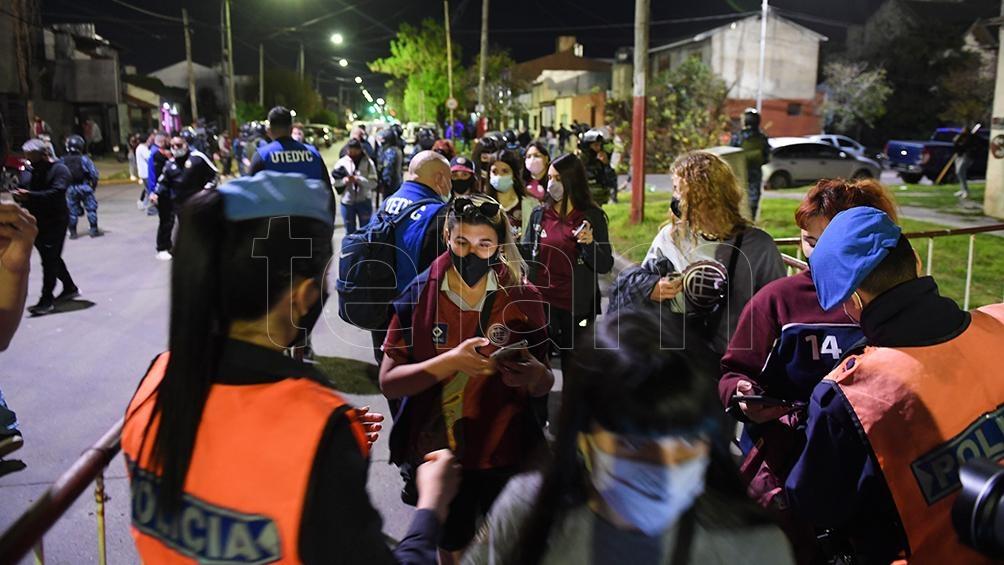 El público de Lanús pudo festejar en casa ante Central Córdoba. Foto: Ramiro Gómez