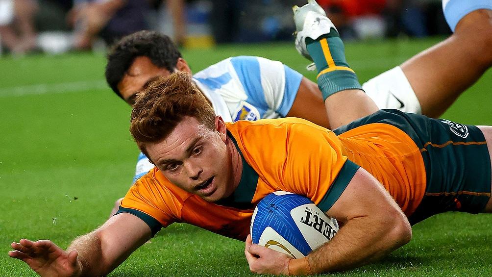 Con bajas, Argentina perdió ante Australia y cerró un difícil Rugby Championship. Foto: AFP