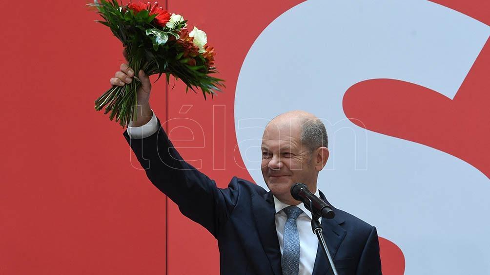Olaf Scholz, actual ministro de Finanzas y número dos en el Gobierno. Foto: AFP