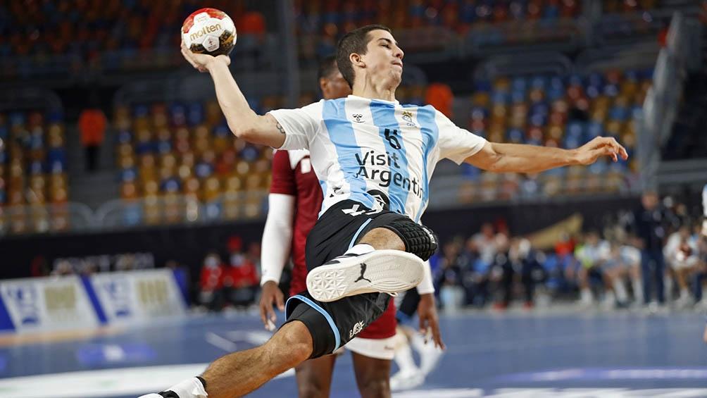 """Simonet: """"En el handball argentino todos tenemos que dar el máximo""""."""