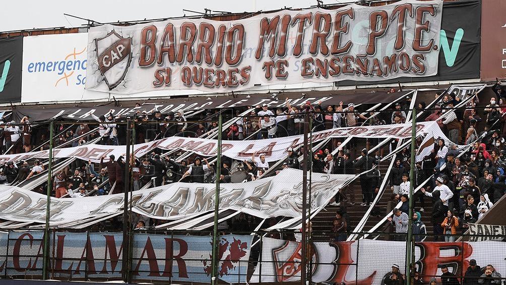 El público de Platense volvió a la cancha para ver a su equipo en primera. (Foto: Ramiro Gómez)