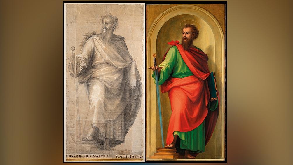 """""""El excepcional descubrimiento"""" que describe la directora de los Museos Vaticanos salió a la luz al final de una restauración del salón que forma parte de las denominadas Estancias de Rafael"""