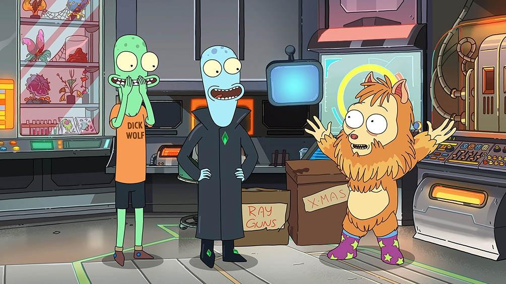 La serie animada sigue a cuatro extraterrestres intentando integrarse en el suburbano paisaje estadounidense.