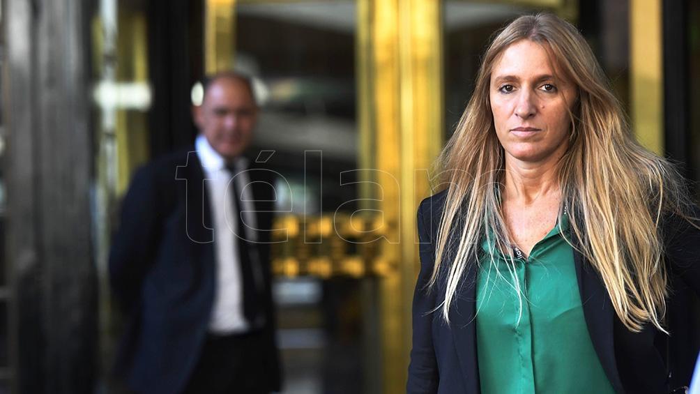 La titular de Migraciones, Florencia Carignano, no se quedó callada ante los ataques de Fernando Iglesias. (Foto Alejandro Santa Cruz)