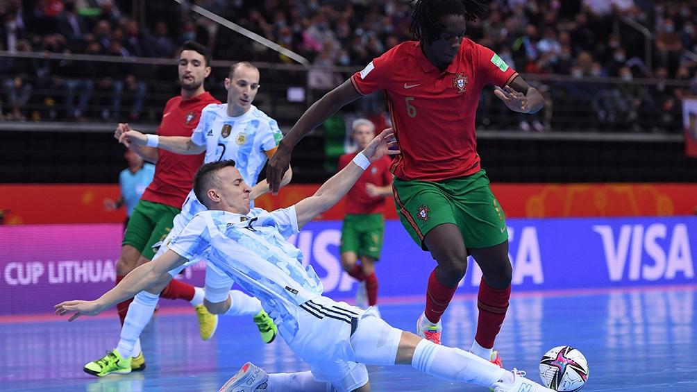 Portugal ganó la Copa del Mundo de Lituania frente a Argentina. Foto: @Argentina