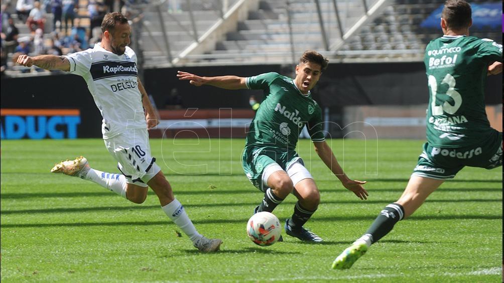Gimnasia perdió frente a Sarmiento en el Único. Foto: Eva Cabrera