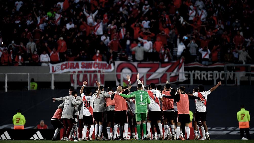 River festejó de cara a su gente el triunfo en el superclásico ante Boca.