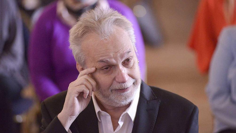David Lebón, que cumple este martes 69 años, personalidad destacada de la ciudad de Buenos Aires.