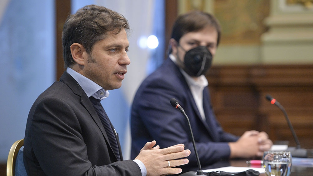 """Kicillof: """"Saliendo de la pandemia, tenemos un futuro inmenso por delante"""""""