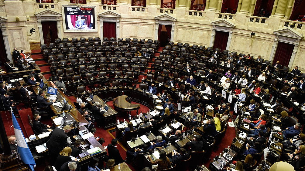 Faltaron 7 diputados para lograr el quorum parlamentario. (Foto: Prensa Diputados).