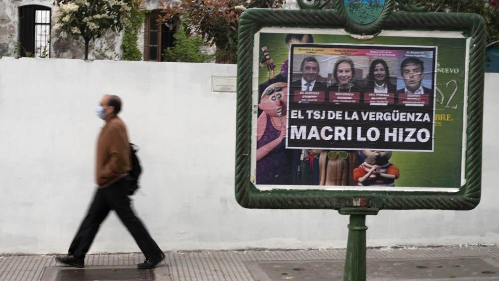 La ley habilita al Tribunal Superior de Justicia porteño a apelar fallos de la justicia nacional (Foto Carlos Brigo)