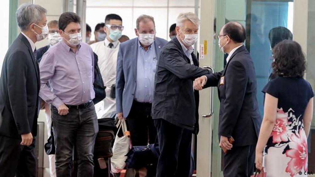 Senadores tenía previsto reunirse con el presidente taiwanés.