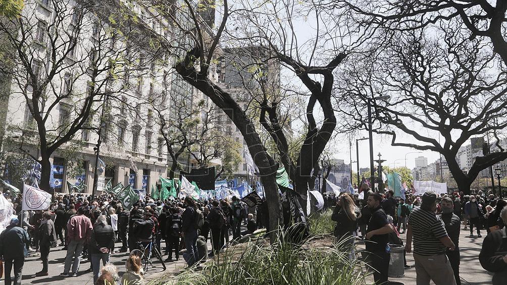 """Las organizaciones denuncian que """"se busca garantizar la impunidad"""" de Mauricio Macri y """"cristalizar el lawfare"""" (Foto Leo Vaca)"""