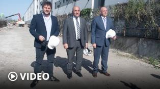 Manzur y Santoro visitaron el viaducto que permitirá al Belgrano Sur llegar a Constitución