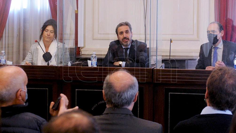 Diego Santilli certificó, como lo hizo en las PASO ante la junta electoral partidaria, que tiene residencia en la provincia de Buenos AiresFoto Eva Cabrera.
