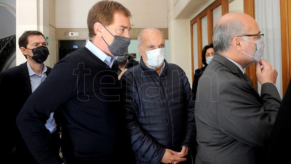 El magistrado Alejo Ramos Padilla tiene 214 horas para expedirse sobre el mandato constitucional de residencia de los candidatos. Foto Eva Cabrera.