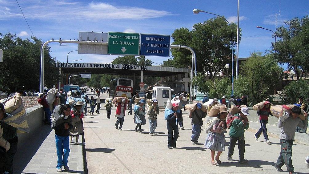 Quedó habilitado el tránsito de ciudadanos entre La Quiaca y Villazón, y Los Toldos en Salta