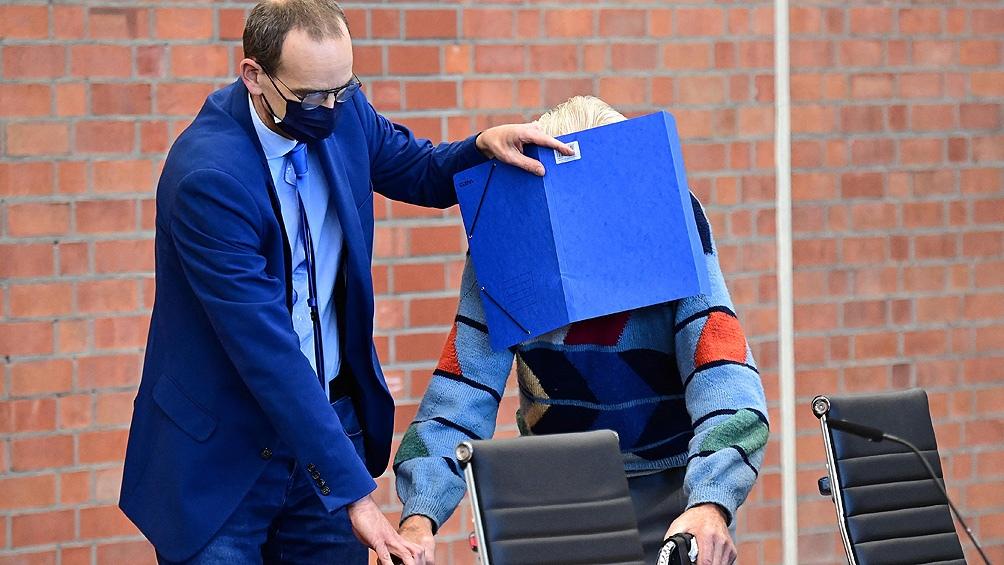 Schutz se convirtió esta semana en el acusado más longevo en rendir cuentas por presuntos crímenes durante el nazismo. Foto: AFP.