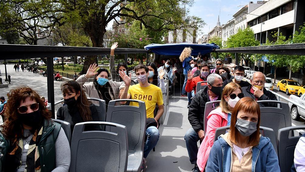 Los turistas aprovecharon para disfrutar de los diferentes destinos q ofrece nuestro país. Foto: Irma Montiel