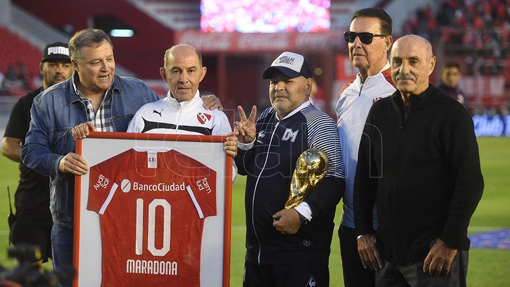 Bochini y el eterno recuerdo por Diego Maradona