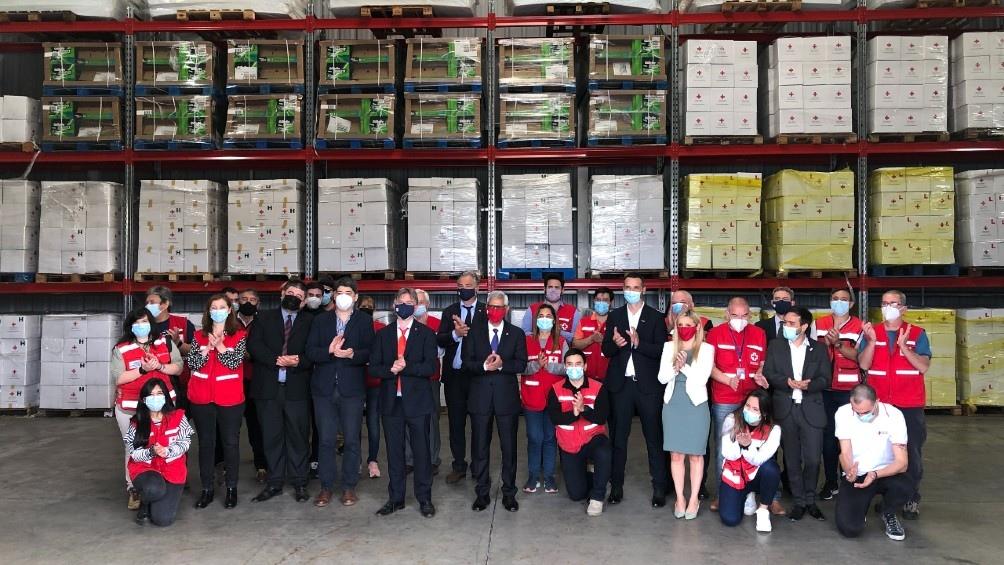 Este hub  permitirá ampliar la respuesta humanitaria de la Cruz Roja en el Cono Sur.
