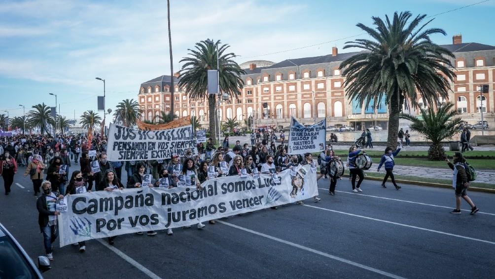 Marcha por Lucía Pérez. Foto: Diego Izquierdo.