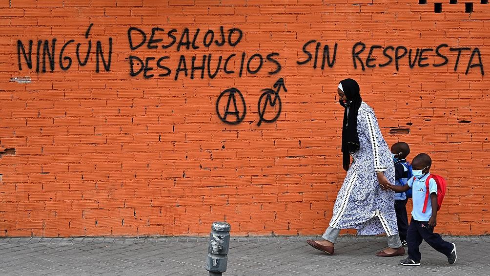 En España la política de vivienda es competencia de las comunidades autónomas y las gobernadas por el PP. Foto: AFP